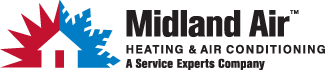 Midland Air Service Experts Logo